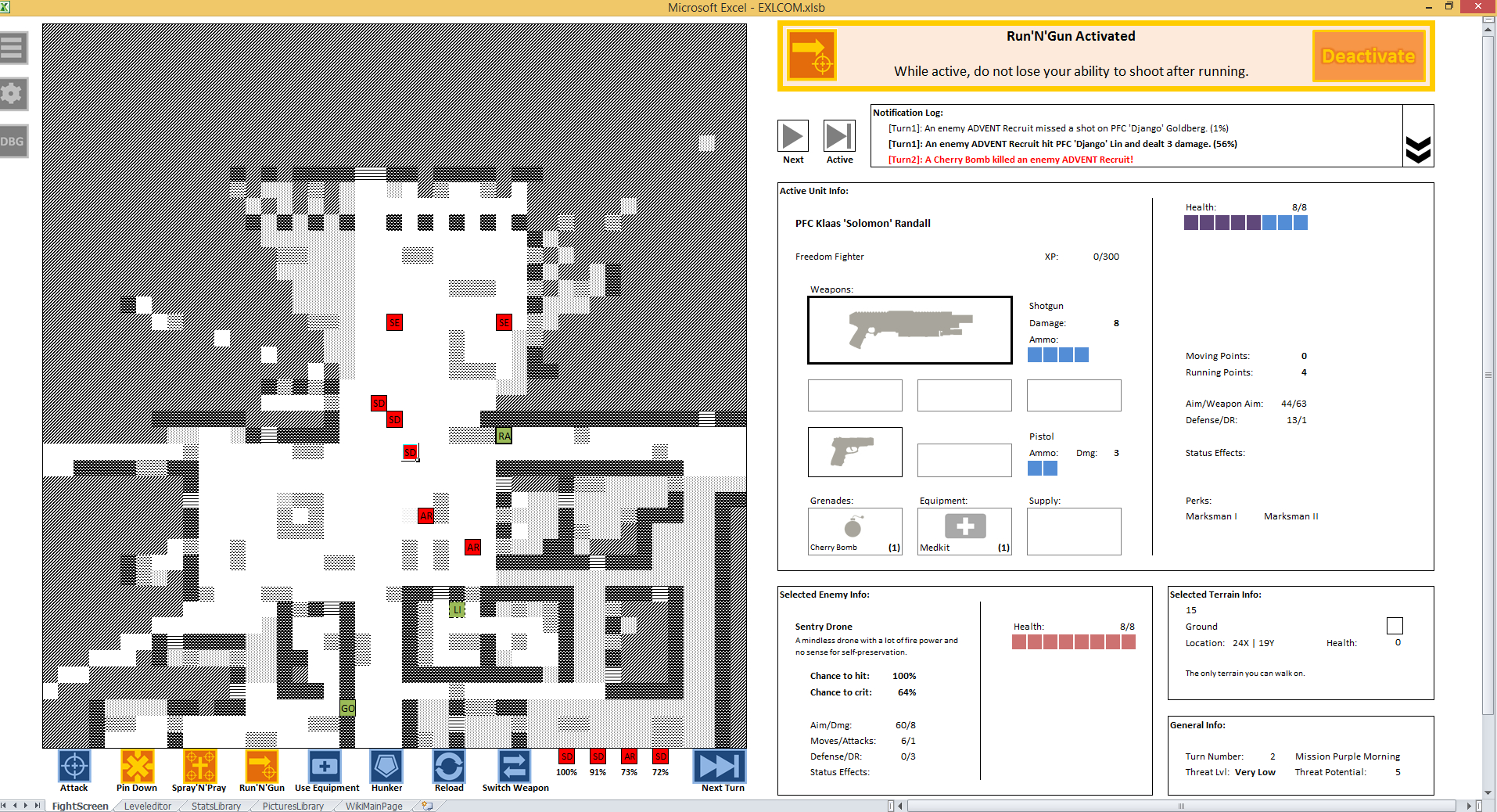 Game Design Spreadsheet Within This Xcom Excel Game Makes You A Spreadsheet Commander