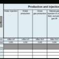 """Gas Lift Design Spreadsheet For 6  Completion Of The Spreadsheet – """"Profil115 =Profile"""