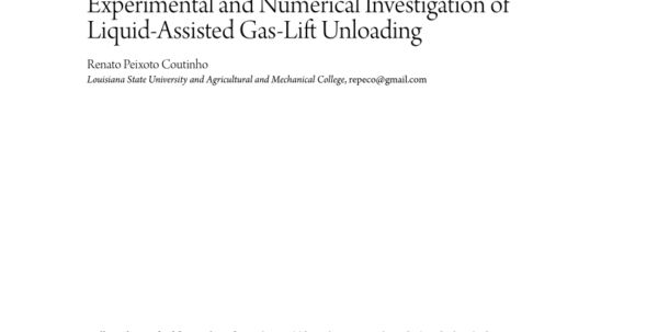 Gas Lift Design Spreadsheet Inside Gaslift Unloading And Operating Simulation As Applied To Mandrel