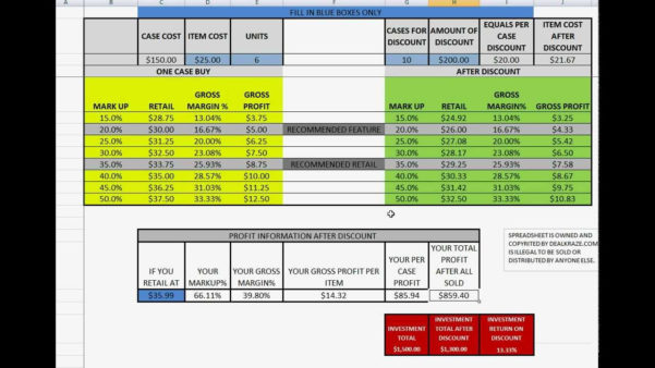 Gas Strut Calculation Spreadsheet Intended For Profit Margin Excel Spreadsheet Template Example Of Spreadshee