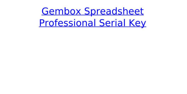 Gembox Spreadsheet In Gembox Spreadsheet Professional Serial Keyrecomgingcul  Issuu