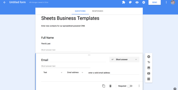 Generate Google Form From Spreadsheet With Regard To Spreadsheet Crm: How To Create A Customizable Crm With Google Sheets Generate Google Form From Spreadsheet Spreadsheet Download