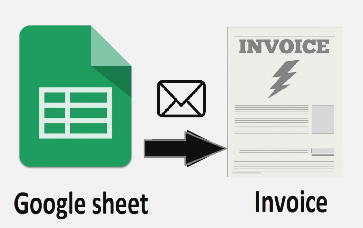 Generate Invoice From Google Spreadsheet In 15 New Thoughts About Google  The Invoice And Form Template