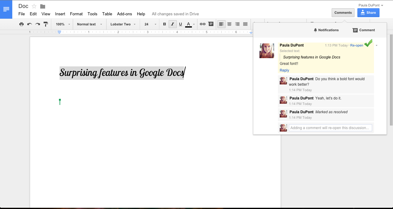 Generate Invoice From Google Spreadsheet Regarding 40  Google Docs Tips To Become A Power User