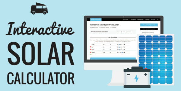 Generator Wattage Calculator Spreadsheet Pertaining To Solar Panel Calculator And Diy Wiring Diagrams For Rv And Campers