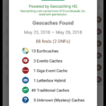 Geocache Puzzle Spoilers Spreadsheet With Regard To Geooh Live