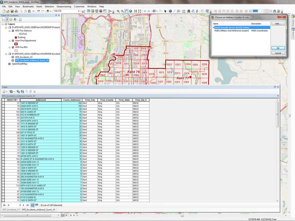 Geocode Excel Spreadsheet Pertaining To Optimize Online Geocoding  Arcuser