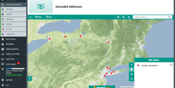 Geocode Excel Spreadsheet With Regard To How To Map Spreadsheet Addresses For Powerful Insights