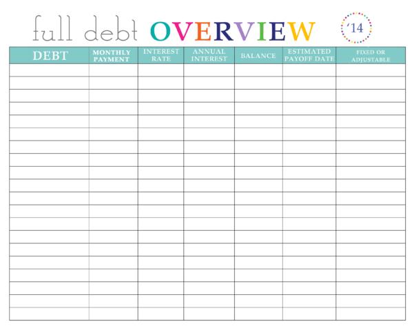 Get Out Of Debt Plan Spreadsheet Regarding Paying Off Debt Worksheets