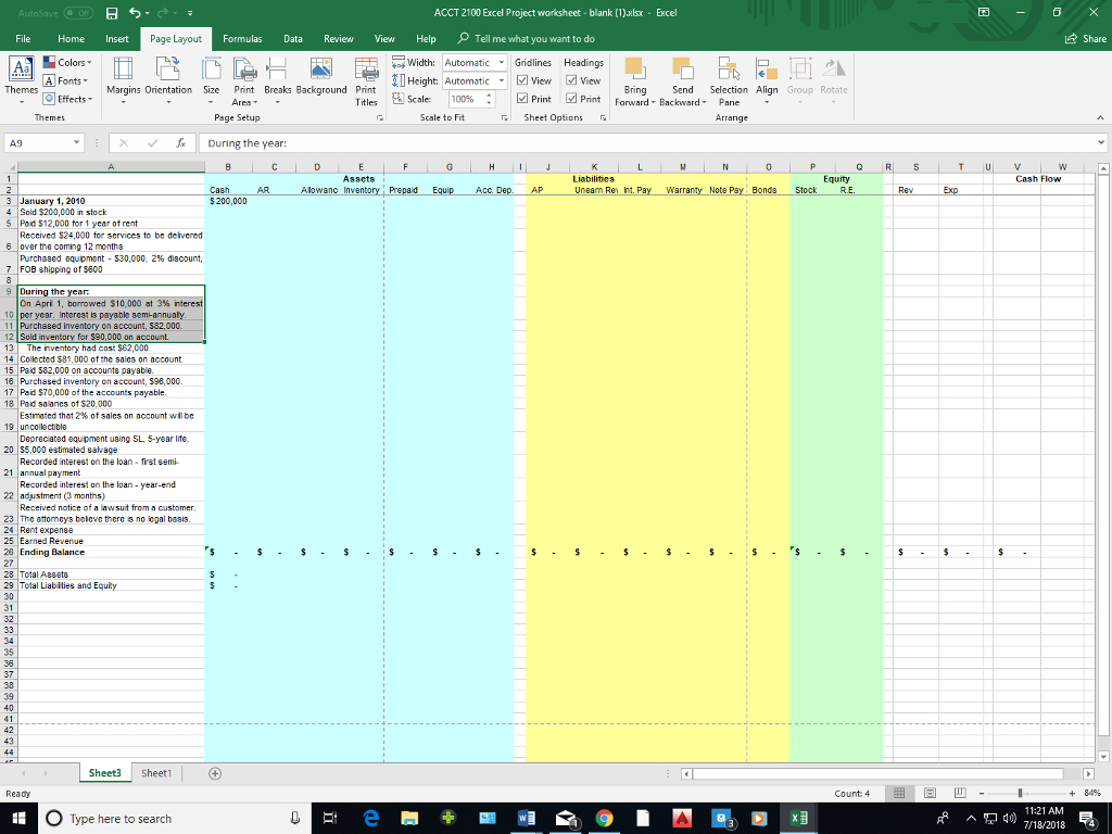 Get Paid To Make Excel Spreadsheets Pertaining To Solved: We Are Asked To Fill In The Excel Spreadsheet And