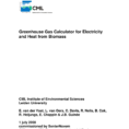 Ghg Calculation Spreadsheet In Pdf Greenhouse Gas Calculator For Electricity And Heat From Biomass
