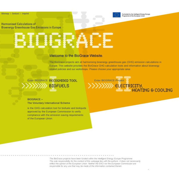 Ghg Calculation Spreadsheet Inside Biograce  Ifeu  Institut Für Energie Und Umweltforschung