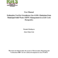 Ghg Calculation Spreadsheet with Pdf Ghg Calculator For Solid Waste