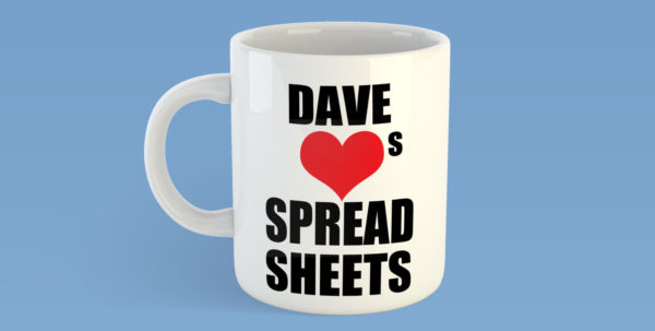Gifts For Spreadsheet Geeks For Love Spreadsheets Personalised Mug Maths Lover Office Geek  Etsy