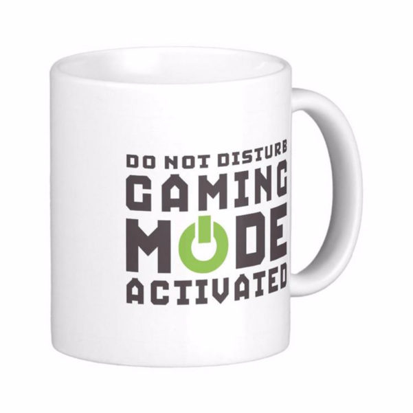 Gifts For Spreadsheet Geeks In Gaming Mode Activated Gamers And Geek White Coffee Mugs Tea Mug