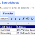 Gifts For Spreadsheet Geeks Intended For Geek To Live: Organize Your Holiday Card List With Google Spreadsheets