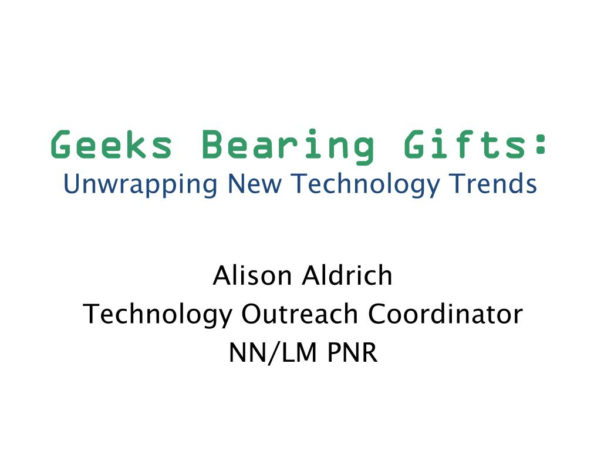 Gifts For Spreadsheet Geeks Intended For Ppt  Geeks Bearing Gifts: Unwrapping New Technology Trends