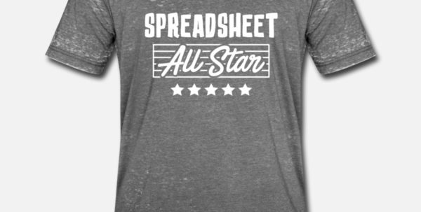 Gifts For Spreadsheet Geeks Regarding Computer Spreadsheet Geek Pun Apparelcustummmerch  Spreadshirt