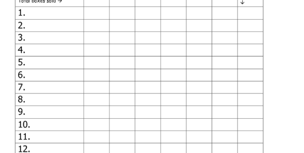 Girl Scout Spreadsheet Pertaining To Girl Scout Cookie Sales Tracking Spreadsheet  Spreadsheet Collections