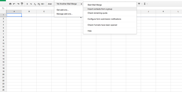 Gmail Spreadsheet Intended For Gmail Mass Email Tips: Avoid The Spammy Look With The Personalized