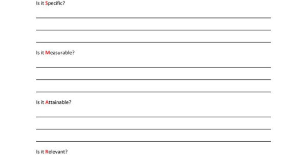 Goal Setting Spreadsheet Template Download Regarding 48 Smart Goals Templates, Examples  Worksheets  Template Lab Goal Setting Spreadsheet Template Download Spreadsheet Download