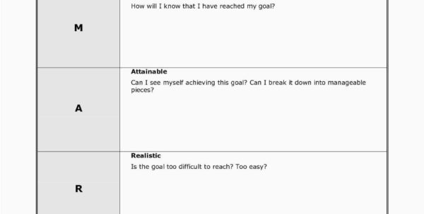 Goal Setting Spreadsheet Template Download Within Smart Goal Template Simple Yearly Goal Setting Worksheet Save Goal