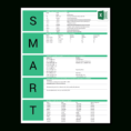 Goal Tracking Spreadsheet For Free Smart Goals Excel Template  Achieveit