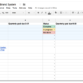 Goals Spreadsheet In Organize Your Year With This Free Goal Tracker