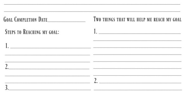 Goals Spreadsheet Inside 4 Free Goal Setting Worksheets – Free Forms, Templates And Ideas To