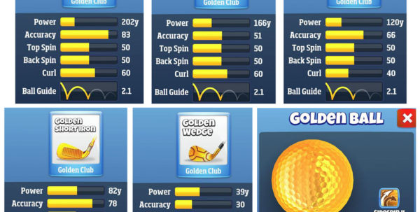 Golf Clash Wind Chart Spreadsheet With Regard To Golf Clash Wind Table  Pak Long Gamer