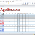 Golf League Excel Spreadsheet in Imagolfer  Golf League Management Website
