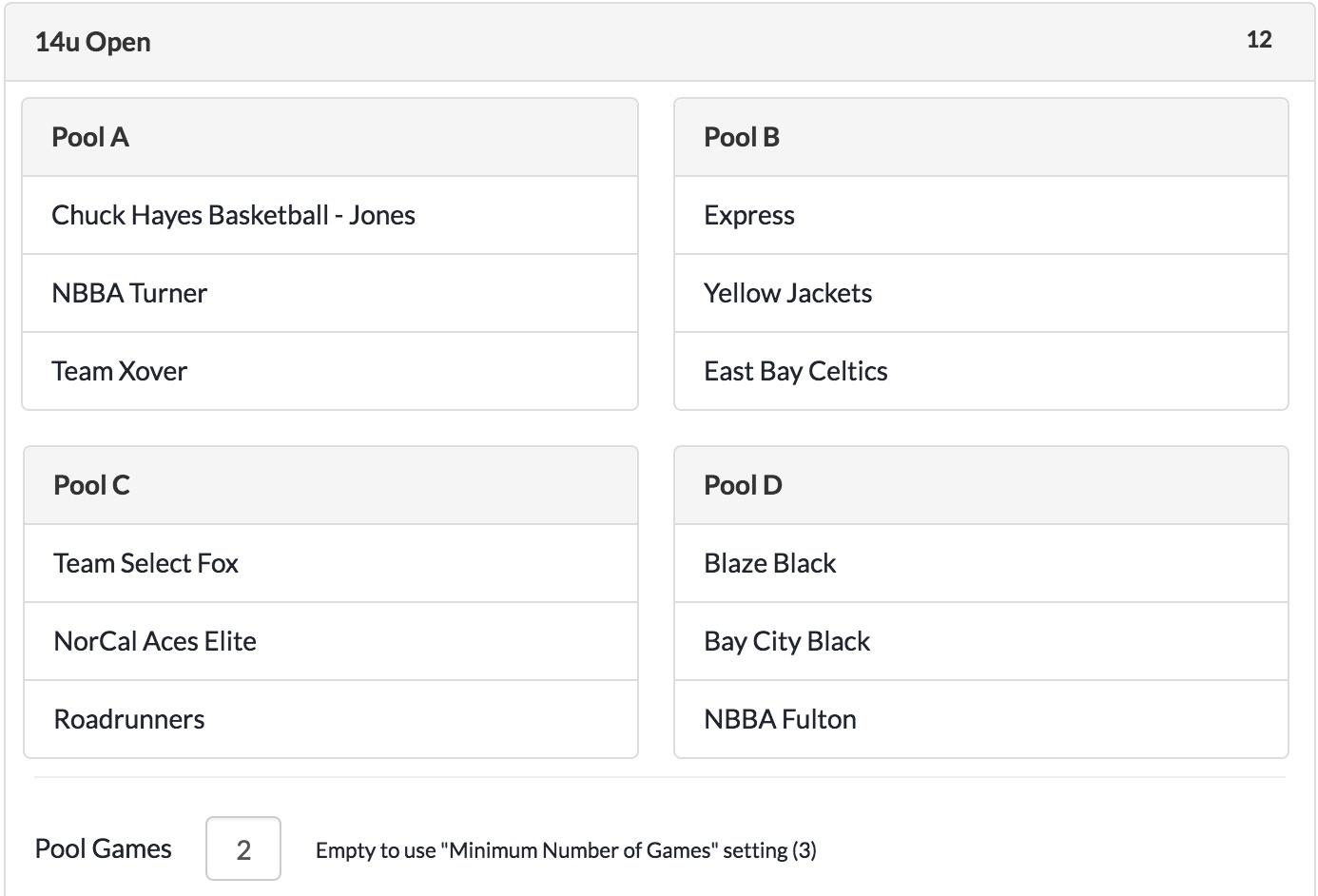 Golf League Scheduler Spreadsheet For League  Tournament Scheduler  Leaguelobster