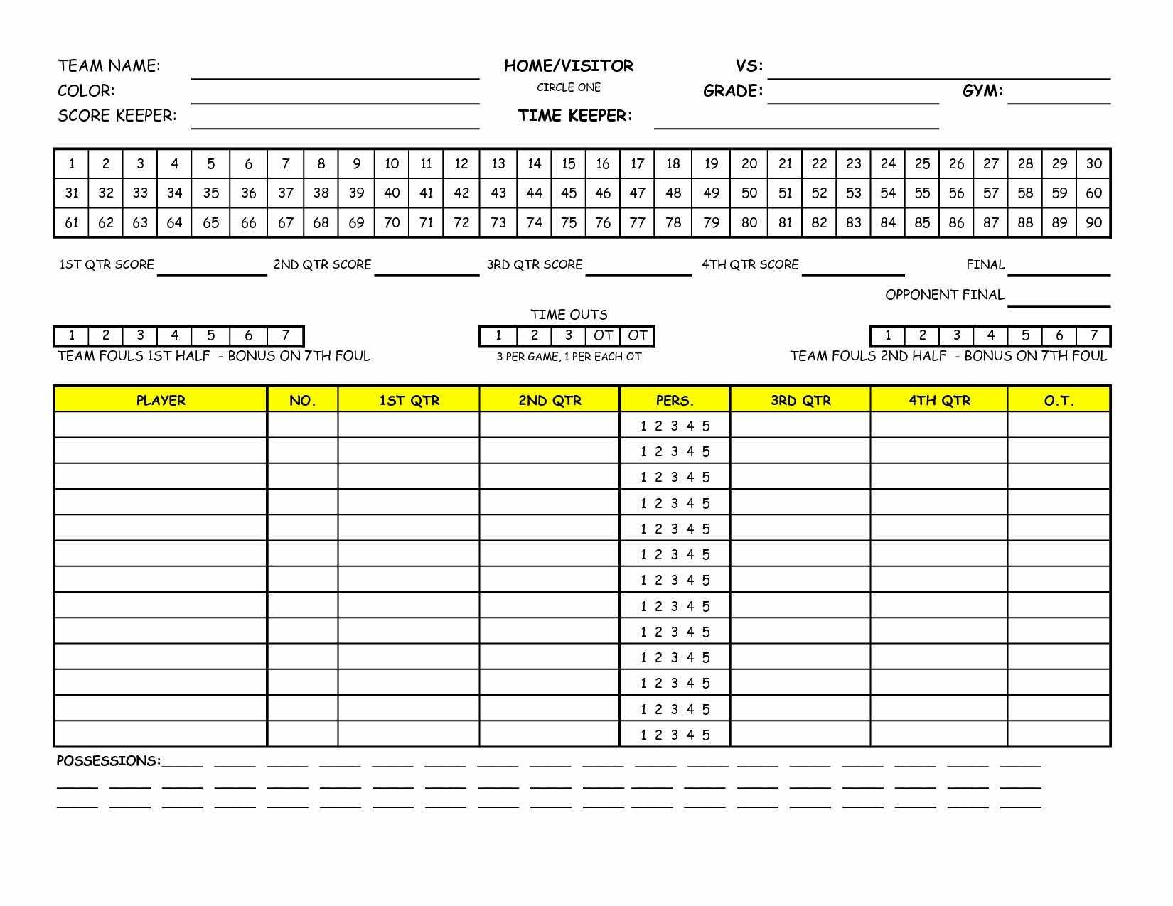 Golf League Spreadsheet Free With 15 Fresh Golf League Spreadsheet Free  Twables.site