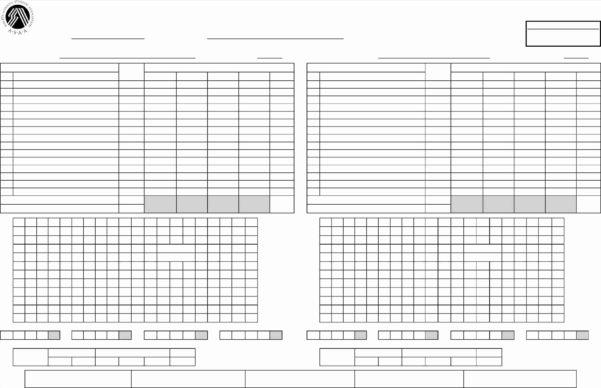 Golf Score Analysis Spreadsheet Throughout Golf Scorecard Template 20 Fresh Gallery Of Golf Scorecard Template