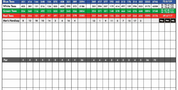 Golf Tournament Excel Spreadsheet For Golf League Exceleadsheet Best Of Beautiful  Emergentreport