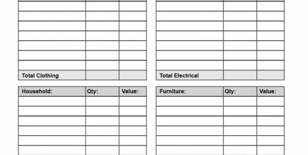 Goodwill Donation Spreadsheet Template With Regard To Goodwill Donation Value Excel Spreadsheet Valuation Template 2018