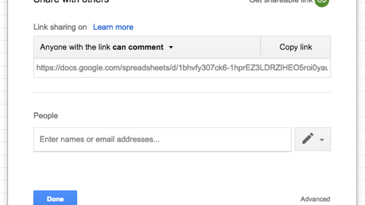 Google Docs Shared Spreadsheet Regarding How To Create An Anonymous Collaborative Google Sheet