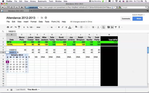 Google Docs Shared Spreadsheet Throughout How To Share Excel Spreadsheet In Google Docs  Homebiz4U2Profit