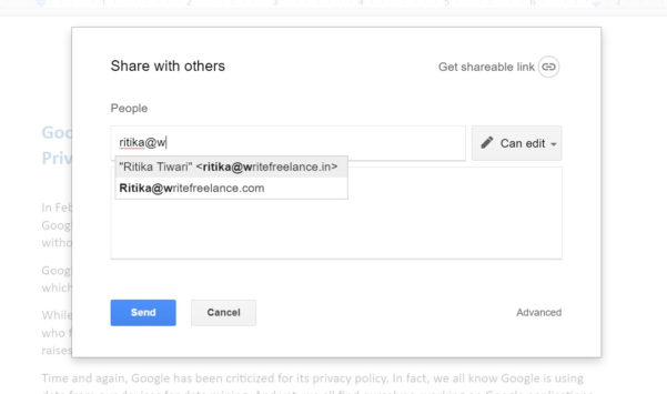 Google Docs Shared Spreadsheet Within Google File Sharing: 11 Little Known Facts That Are Critical To Your