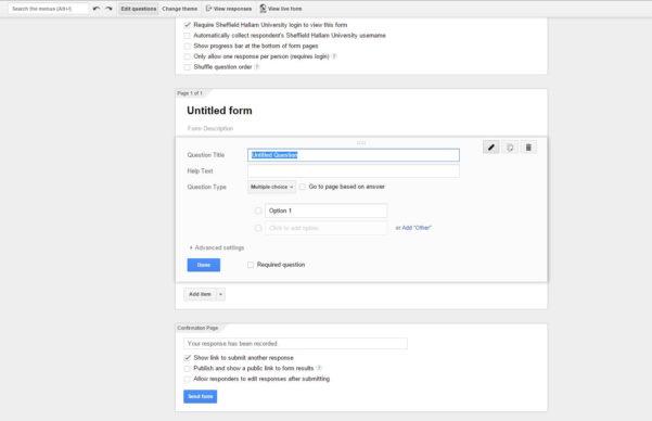 Google Docs Spreadsheet App Pertaining To Google Apps For Education  Google Forms  Shutech Blog
