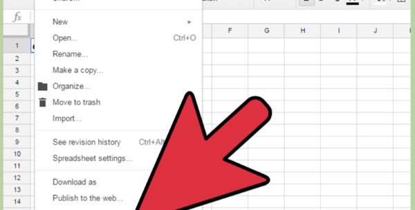 Google Excel Spreadsheet Pertaining To How To Use Google Spreadsheets: 14 Steps With Pictures  Wikihow