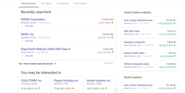 Google Finance Spreadsheet Pertaining To Google Finance Update Helps You Follow Finances And Stocks