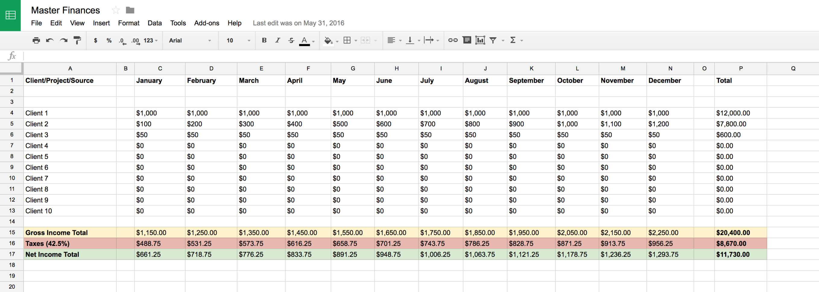 Google Finance Spreadsheet Within Master Financial Spreadsheets  Products  Matt Olpinski  Ui   Ux