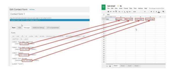 Google Live Spreadsheet Inside Cf7 To Spreadsheet – Ultimate Addons For Beaver Builder