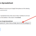 Google Shared Spreadsheet For How To Display Customer Data From Google Sheets In The Ticket No