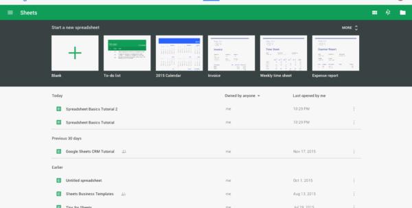 Google Shared Spreadsheet Regarding Google Sheets 101: The Beginner's Guide To Online Spreadsheets  The