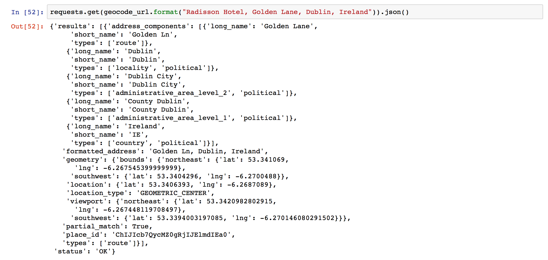 Google Spreadsheet Api Python Throughout Batch Csv Geocoding In Python With Google Maps Api  Shane Lynn