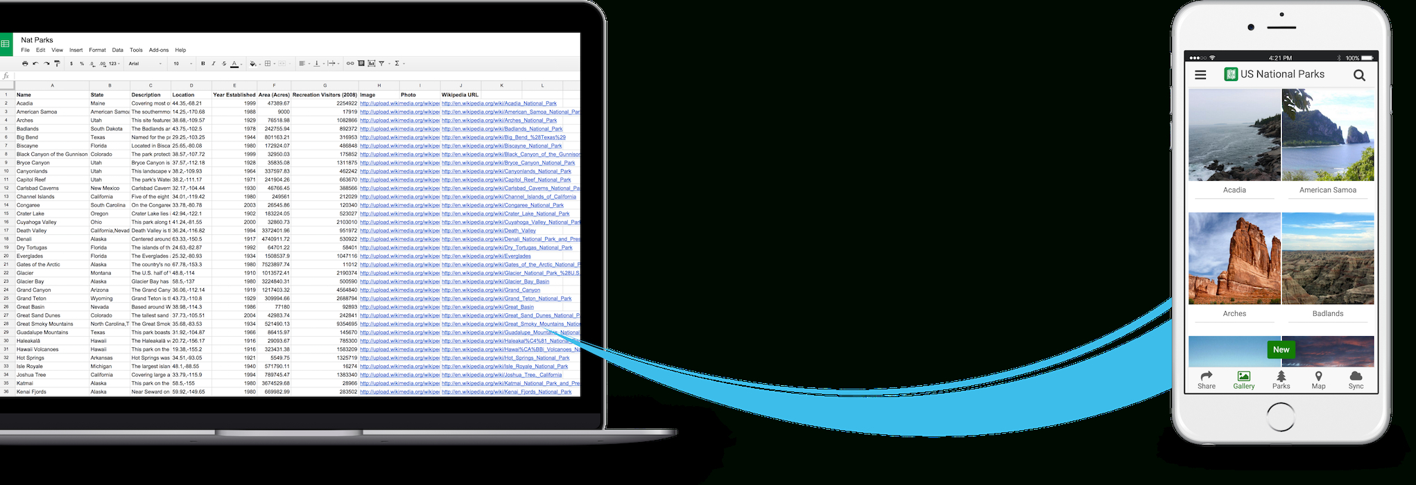 Google Spreadsheet App Throughout Make A Mobile App From Google Spreadsheets And Forms  Appsheet