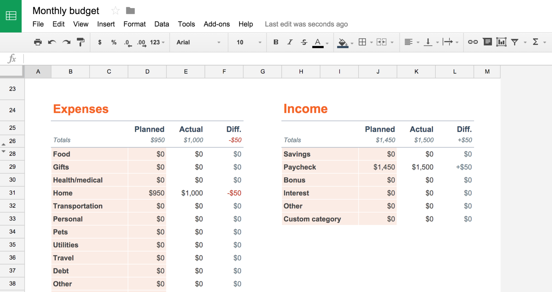Google Spreadsheet As Database For Website For From Visicalc To Google Sheets: The 12 Best Spreadsheet Apps