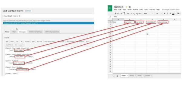 Google Spreadsheet As Database For Website Pertaining To Cf7 To Spreadsheet – Ultimate Addons For Beaver Builder